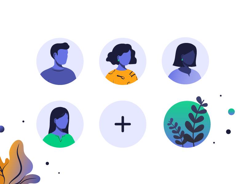 invoice quick avatars by aleksandra savic dribbble