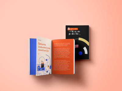 Open Data Guide open data opendata data guide vector typography branding design booklet bookdesign book type illo illustration