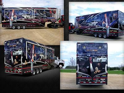 Massive Truck Wrap for NBA Celebrity