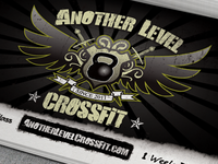 Business Card & Logo for Another Level CrossFit