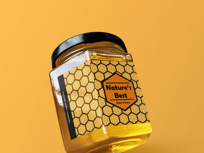 Honey Jar Product Design product designer packaging product design patterns logo design