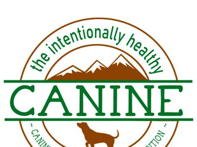 The Intentionally Healthy Canine Logo logo design logo branding branding logo design