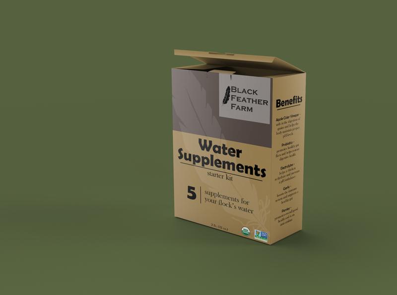 Black Feather Farm Box Product Design design graphicdesign product branding branding label packaging label design box design product design