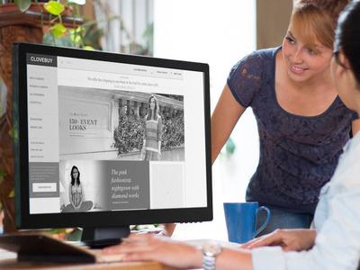 Clovebuy dubai ux web design online fashion ecommerce website