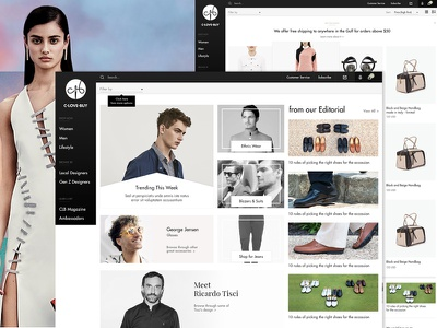 C.Love.Buy, an ecommerce website dubai digital agency dubai shopping web design website ecommerce