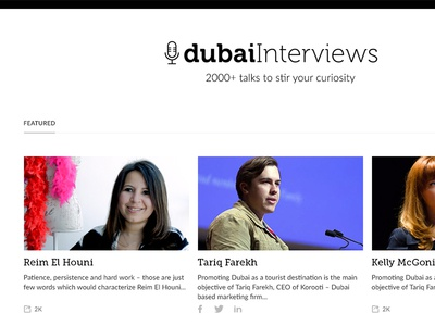 dubai Interviews video video blog creative dubai digital agency website design redesign website redesign web design dubai interviews dubai