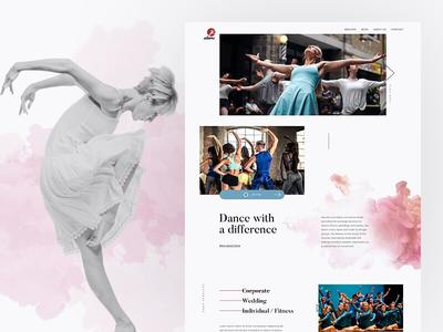 Redesigning DANS website web design