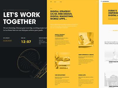 The new Conceptualize.ae digital agency dubai web development web design