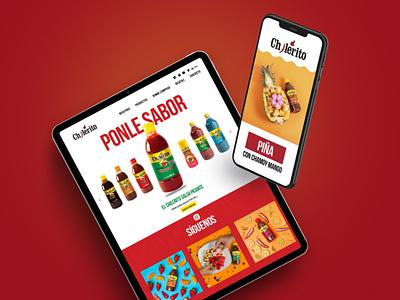 Chilerito diseño mexicano design branding mexicano web logo branding