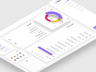 Dashboard persian ui dashboard webdesign design web design web ui ux ui