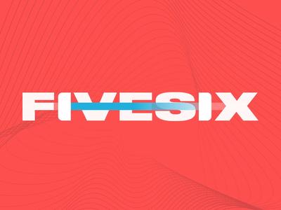 FiveSix: Wordmark Animation