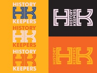 History Keepers Wordmark (California Historical Society) california font color title lockup heritage history wordmark logo logo design wordmark logo california historical society san francisco los angeles exhibition design graphic graphic design typography identity branding