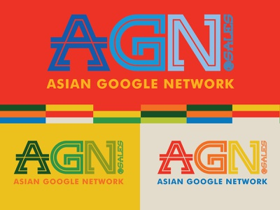AGN Wordmark (Google) mountain view colorway california logo design wordmark google color graphic design typography logo identity branding