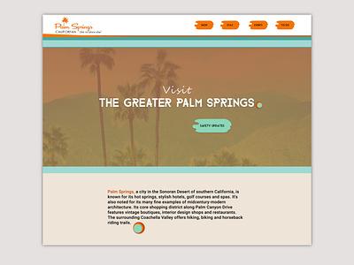 DailyUI03 design citywebpage midcenturymodern landingpage dailyui003 dailyui