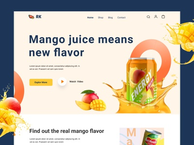 eCommerce website landing page shopping shopify sell buy store online shop product page design home fashion illustration logo branding ux ui design homepage ecommerce website landing page landing page