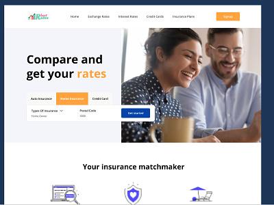 Banking Web design homepage home website landing office landingpage web ux banking bank branding