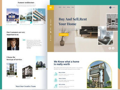 Real Estate Landing Page hotel room house hompage house balding hompage house home balding hompage house ui home balding hompage house uiux app uiux web app uiux desing web app uiux real estate agency