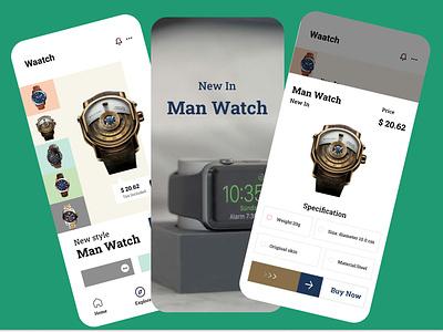 Watch Shop App shtor shop ecommerce ecommerce app minimal ui ux ui design trend ux ui design design trend ux ui trendy dribbble best shot trendy