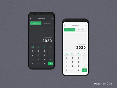 Calculator dribbble dribbble best shot dribbble invite challange dailyui ui  ux designers ux ui typography minimal design app