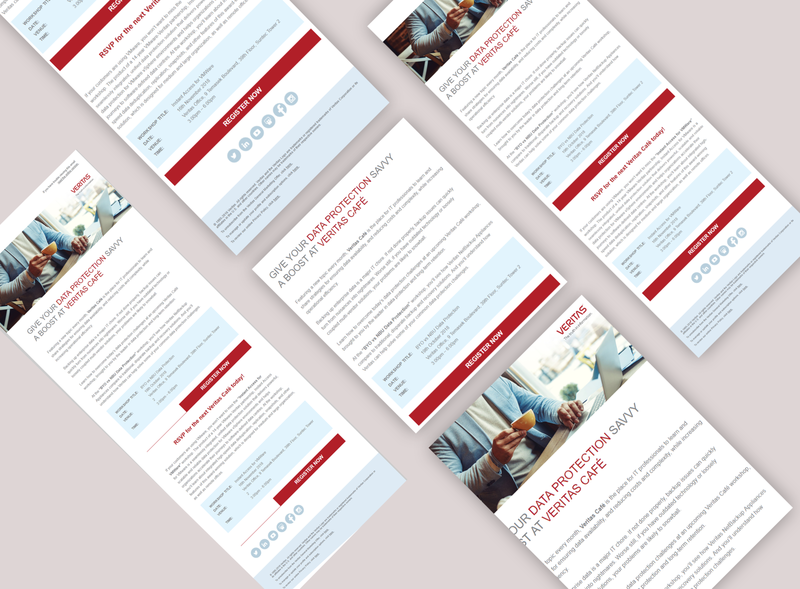 Veritas Email Marketing Campaign email coding email development email marketing email design email campaign