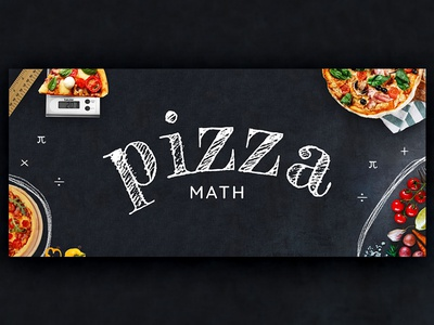 Pizza Math Graphic