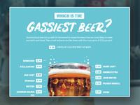Gassiest Beers