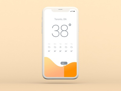 UIUX Concept Design (weather app) ux design ux ui  ux uidesign ui app vector illustrator illustration design