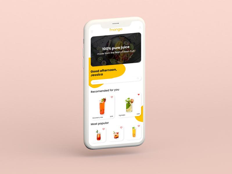 Daily UI Challenge #04 (card-based) cards ui drink logo layout ui  ux uidesign ui app vector illustrator illustration design