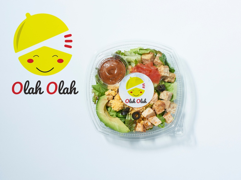 "Design Logo ""Olah Olah"" - free download mockup links food free flat icon vector logo design free downloads free download psd free mockup"