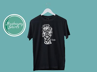 Zombie Art (T-Shirt Design) tshirt design tshirtdesign tshirt art tshirts tshirt shirt ship zombies zombie logos logo design