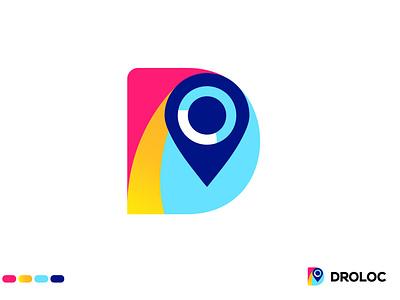 Letter D Logo logodesign branding design modern logo colorful logo gradient logo location logo logo trends 2020 logo trend2021 minimalist logo letter d logo vector app icon logo collection typography illustration logo agency logo abstract dribbble best shot logotype