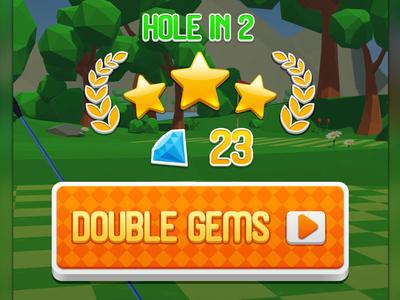 Congratulation Screen game art game design level development gamelevel development gemelevel design game level leveldesign golf casino game golf social game golf game golf themed golf