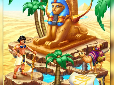 """Social Game """"Prince of Egypt"""" casual game ui casual game ui social game ui ui game design game development game developers social game development social game developer casual game development casual game developer casual games casual game social game slot design game design game art"""