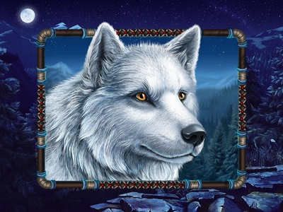 The White Wolf as the next slot symbol 🐺🐺🐺 north slot game north themed slot game slot machine art slot game development slot game developer slot symbol slot symbol art slot symbol design wolf slot symbol wolf sslot wolf symbol wolf graphic design slot design game design game art