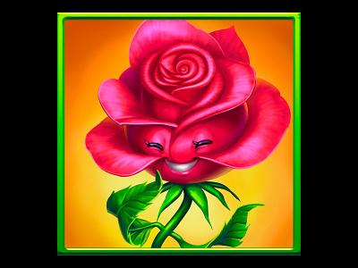A rose as a slot symbol casino art casino games casino slot slot game slot machine graphics slot game graphics slot symbol design slot symbol art slot symbol rose design rose quartz rose symbol rose game slot slot machine graphic design online slot design game design game art