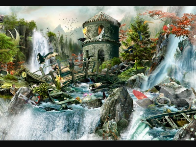 Waterfall Illustration as a Background Level slot machine graphics slot machine design slot game design slot game art gambling art gambling design digital illustration digital graphics digital illustrator digital art digital graphic digital graphic design illustrator illustration art illustration graphic design gambling slot design game design game art