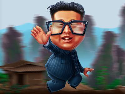 Kim Jong-un - character development gambling art gambling design slot game design character modeling game character slot character characterdesign character art kim jong-un digital art graphic design gambling slot design game design game art