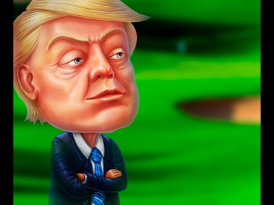 Donald Trump as a last character of the our Set of Celebrities game designer slot game design slot characters art slot characters design slot character slot game art character art character developer character development characterdesign character design character graphic design gambling slot design game design game art