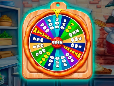 Bonus round Design - Wheel of fortune ui design casino developer casino game slot game development slot developer slot game art wheel design wheel of fortune wheel bonus game design bonus game bonus round bonus game slot slot machine graphic design gambling slot design game design game art