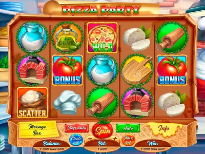 Pizza slot - Game reels design slot development slot game development graphic developer graphics design graphics designer casino game design casino game slot game developer slot game art slot game design game reels slot reels reels graphic design gambling slot design game design game art