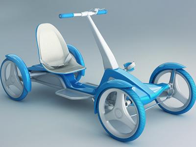 Four-wheel bike