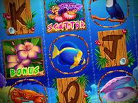 "Slot machine - ""Lucky shores"""