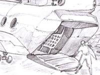 Background Sketch for slot machine
