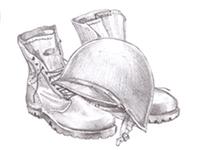 High symbol sketch for the slot machine
