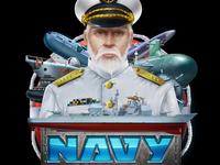 """Slot machine - """"Navy"""""""