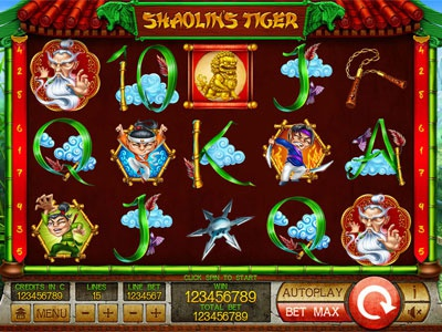 Game reel of the slot slot game