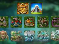 Aztecs Themed symbols & characters