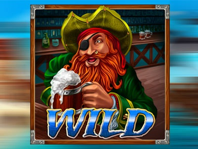Symbol WILD - Pirate slot symbol