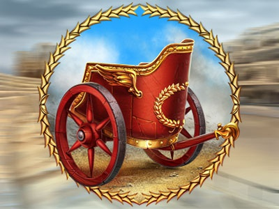 Roman chariot - Quadriga as the slot symbol