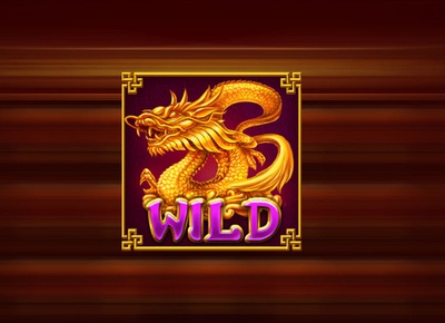 Dragon WILD slot symbol